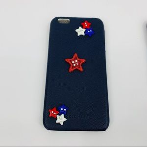Cole Haan Red White & Blue Star Bling Case